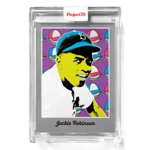 Topps Project70® Card 581 -   Jackie Robinson by Ron English