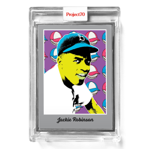 Topps Project70® Card 581 -   Jackie Robinson by Ron English  - Artist Proof # to 51