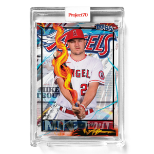 Topps Project70® Card 582 -   Mike Trout by King Saladeen