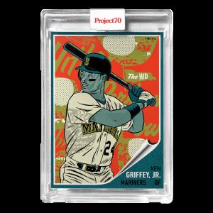 Topps Project70® Card 584 -  1962 Ken Griffey Jr. by Morning Breath