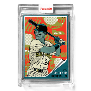 Topps Project70® Card 584 -  1962 Ken Griffey Jr. by Morning Breath  - Artist Proof # to 51