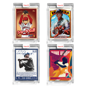 4-Card Bundle - Topps Project70® Cards #634-637