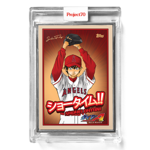 Topps Project70® Card 634 -   Shohei Ohtani by SoleFly  - Artist Proof # to 51