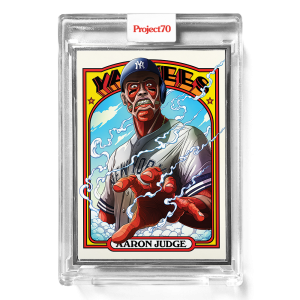 Topps Project70® Card 635 -  1972 Aaron Judge by Alex Pardee  - Artist Proof # to 51