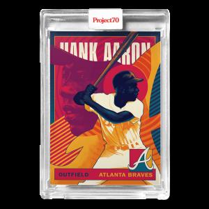 Topps Project70® Card 637 -  1986 Hank Aaron by Matt Taylor