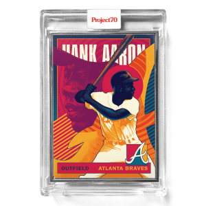 Topps Project70® Card 637 -  1986 Hank Aaron by Matt Taylor  - Artist Proof # to 51