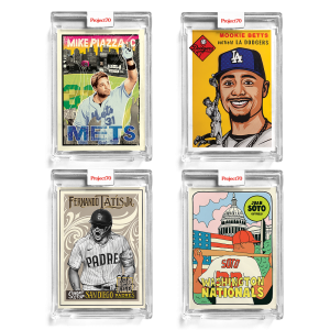 4-Card Bundle - Topps Project70® Cards #638-641