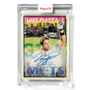 Topps Project70® Card 638 -  1967 Mike Piazza by New York Nico - On-Card Auto # to 70