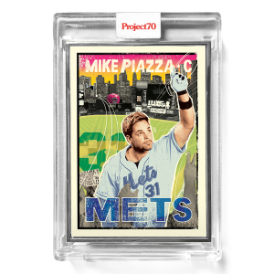 Topps Project70® Card 638 -  1967 Mike Piazza by New York Nico  - Artist Proof # to 51