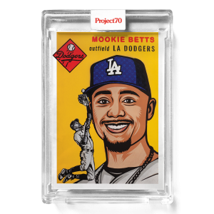 Topps Project70® Card 639 -   Mookie Betts by Blake Jamieson