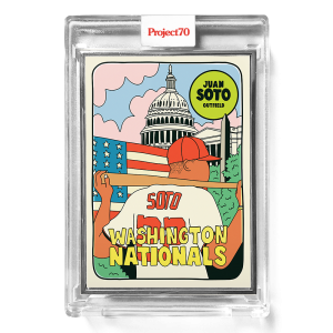 Topps Project70® Card 641 -   Juan Soto by Fucci  - Artist Proof # to 51