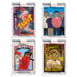 4-Card Bundle - Topps Project70® Cards #642-645