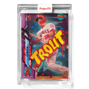 Topps Project70® Card 642 -  2020 Mike Trout by RISK