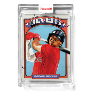 Topps Project70® Card 644 -  1972 Rafael Devers by Jacob Rochester