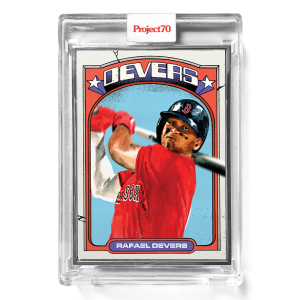 Topps Project70® Card 644 -  1972 Rafael Devers by Jacob Rochester  - Artist Proof # to 51