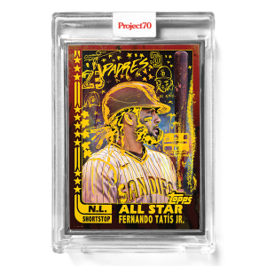 Topps Project70® Card 645 -   Fernando Tatis Jr. by Gregory Siff  - Artist Proof # to 51