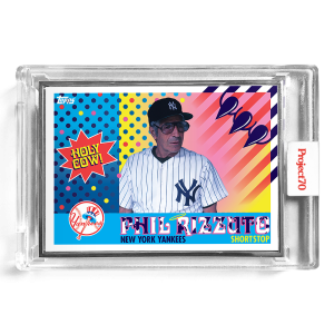 Topps Project70® Card 649 -   Phil Rizzuto by Claw Money  - Artist Proof # to 51