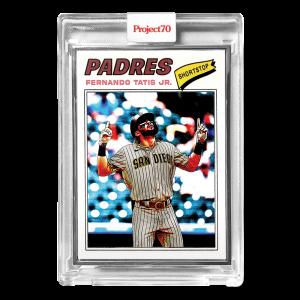 Topps Project70® Card 651 -  1977 Fernado Tatis Jr. by Matt McCormick  - Artist Proof # to 51