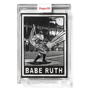 Topps Project70® Card 653 -   Babe Ruth by Joshua Vides