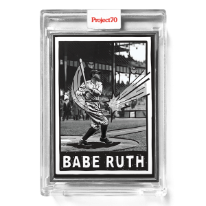 Topps Project70® Card 653 -   Babe Ruth by Joshua Vides  - Artist Proof # to 51