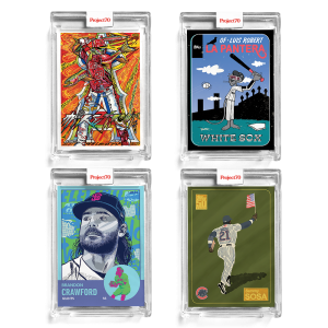 4-Card Bundle - Topps Project70® Cards #654-657