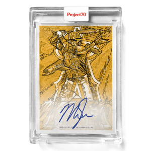 Topps Project70® Card 654 -   Mike Trout by JK5 - On-Card Auto # to 1
