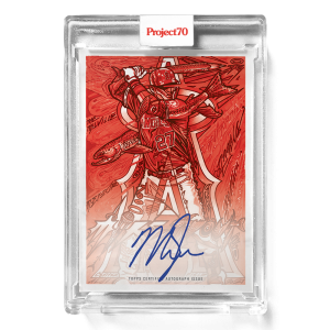 Topps Project70® Card 654 -   Mike Trout by JK5 - On-Card Auto # to 5