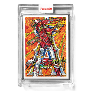Topps Project70® Card 654 -   Mike Trout by JK5  - Artist Proof # to 51
