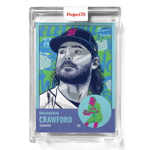 Topps Project70® Card 656 -   Brandon Crawford by Morning Breath