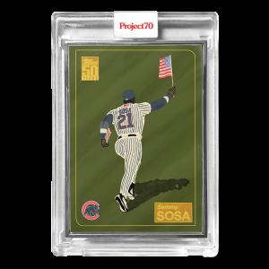 Topps Project70® Card 657 -   Sammy Sosa by Oldmanalan  - Artist Proof # to 51