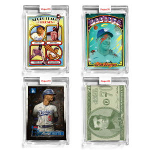 4-Card Bundle - Topps Project70® Cards #662-665