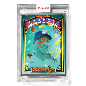 Topps Project70® Card 663 -   Max Scherzer by CES  - Artist Proof # to 51