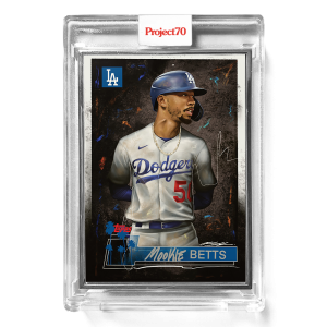 Topps Project70® Card 664 -  2018 Mookie Betts by Chuck Styles  - Artist Proof # to 51