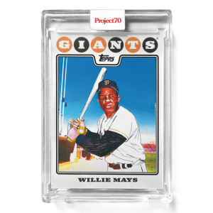 Topps Project70® Card 670 -   WIllie Mays by Matt McCormick
