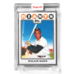 Topps Project70® Card 670 -   WIllie Mays by Matt McCormick  - Artist Proof # to 51
