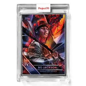 Topps Project70® Card 674 -   Bo Jackson by Mikael B  - Artist Proof # to 51