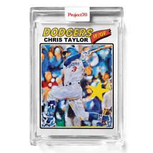 Topps Project70® Card 675 -  1977 Chris Taylor by Jonas Never