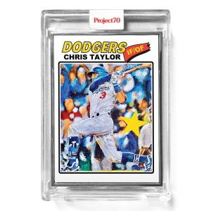 Topps Project70® Card 675 -  1977 Chris Taylor by Jonas Never  - Artist Proof # to 51