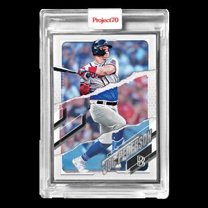 Topps Project70® Card 677 -  2021 Joc Pederson by Ben Baller  - Artist Proof # to 51