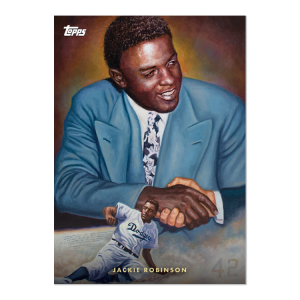 2021 Topps - Game Within The Game Card #8 - Jackie Robinson