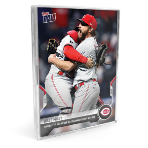 6-Card Bundle - 2021 MLB TOPPS NOW® Cards: 181-186