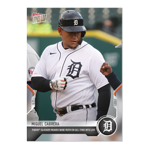 Miguel Cabrera  - 2021 MLB TOPPS NOW® Card 181