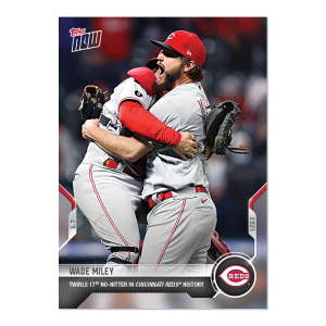 Wade Miley  - 2021 MLB TOPPS NOW® Card 182