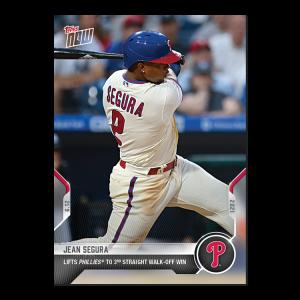 Jean Segura  - 2021 MLB TOPPS NOW® Card 347