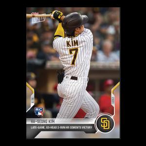 Ha-seong Kim  - 2021 MLB TOPPS NOW® Card 386