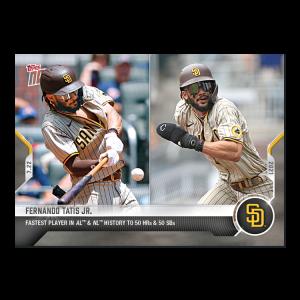 Fernando Tatis Jr.  - 2021 MLB TOPPS NOW® Card 542