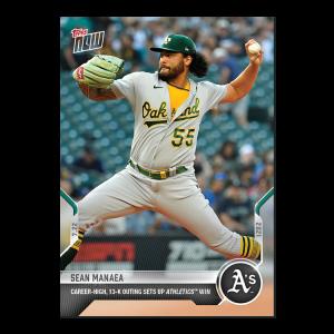 Sean Manaea  - 2021 MLB TOPPS NOW® Card 544