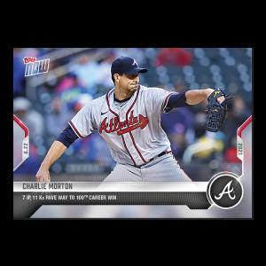 Charlie Morton  - 2021 MLB TOPPS NOW® Card 401