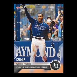 Wander Franco  - 2021 MLB TOPPS NOW® Card 402