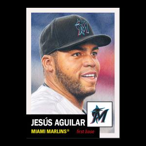 Topps MLB® Living Set® Card #421 - Jesus Aguilar